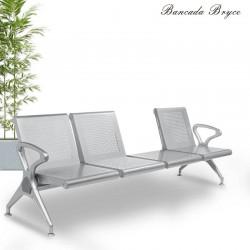 Bancada Bryce 3 Plazas y Mesa