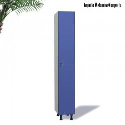 Taquilla 1 puerta Compacto / Melamina