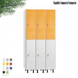 Taquilla 2 puertas Compacto / Compacto