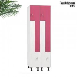 Taquilla 2 puertas en ''L'' Compacto / Compacto